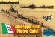 3586 - Submarine Giuseppe Finzi/Pietro Calvi, 1935, 1/350